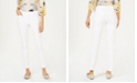 Charter Club Petite Solid Newport Slim-Leg Pants, Created for Macy's