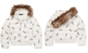 Polo Ralph Lauren Big Girls Polo Bear Quilted Down Jacket