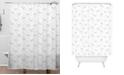 Deny Designs Iveta Abolina Georgia Peach II Shower Curtain