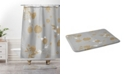 Deny Designs Iveta Abolina Copper Leaf Bath Mat