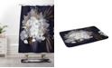 Deny Designs Iveta Abolina Floral Midnight Bath Mat