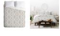 Deny Designs Holli Zollinger Mandala Tile Light King Duvet Set