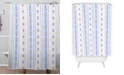 Deny Designs Holli Zollinger French Linen Boho Stripe Shower Curtain