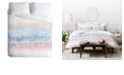 Deny Designs Iveta Abolina Pink Frost Queen Duvet Set