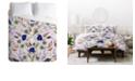 Deny Designs Iveta Abolina Poppy Meadow III Twin Duvet Set