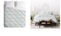 Deny Designs Iveta Abolina Aida Seaside Twin Duvet Set