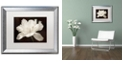 "Trademark Global Cora Niele 'White Tulip I' Matted Framed Art, 16"" x 20"""