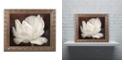 """Trademark Global Cora Niele 'White Tulip III' Ornate Framed Art, 11"""" x 14"""""""