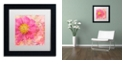 "Trademark Global Cora Niele 'Peony - Feminine Beauty' Matted Framed Art, 11"" x 11"""