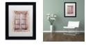 """Trademark Global Cora Niele 'French Window I' Matted Framed Art, 11"""" x 14"""""""