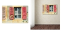 "Trademark Global Cora Niele 'Red Shutters' Canvas Art, 22"" x 32"""