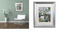 "Trademark Global Jenny Newland 'North America's Endangered' Matted Framed Art, 16"" x 20"""