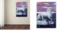 "Trademark Global Jenny Newland 'Unicorn' Canvas Art, 35"" x 47"""