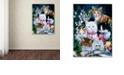 "Trademark Global Jenny Newland 'Kittens' Canvas Art, 24"" x 32"""