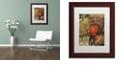 "Trademark Global Nick Bantock 'Heart' Matted Framed Art, 11"" x 14"""
