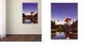 """Trademark Global Nick Bantock 'Kangaroo Hat' Canvas Art, 14"""" x 19"""""""