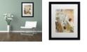 """Trademark Global Nick Bantock 'Ponte Sul' Matted Framed Art, 16"""" x 20"""""""