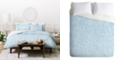 Deny Designs Holli Zollinger Linen Acid Wash Twin Duvet Set