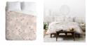 Deny Designs Iveta Abolina Camellia Garden III Queen Duvet Set