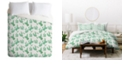 Deny Designs Holli Zollinger French Linen Sedona Cactus King Duvet Set
