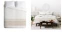 Deny Designs Holli Zollinger French Linen Tassel Twin Duvet Set