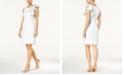 Calvin Klein Ruffled Sheath Dress