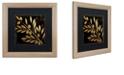 "Trademark Global Color Bakery 'Bellissima I' Matted Framed Art, 16"" x 16"""