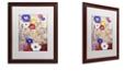 "Trademark Global Color Bakery 'Sevilla I' Matted Framed Art, 16"" x 20"""