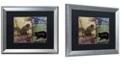 "Trademark Global Color Bakery 'Locked And Loaded V' Matted Framed Art, 16"" x 20"""