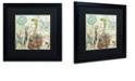 """Trademark Global Color Bakery 'Nesting I' Matted Framed Art, 16"""" x 16"""""""