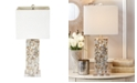 Two's Company Mother of Pearl Table Lamp