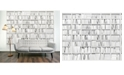 Brewster Home Fashions Library Wall Mural