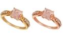Le Vian Peach & Nude™ Peach Morganite (1 ct. t.w.) & Nude Diamond (1/5 ct. t.w.) Ring in 14k Rose Gold