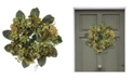 "Nearly Natural 18"" Artichoke Wreath"