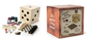 Tri-Coastal Design Game Cube to Fit on Desktop or Tabletop - Small, Portable Travel Games for Kids or Adults
