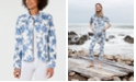 Charter Club Floral-Print Denim Jacket, Created for Macy's