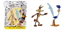 Looney Tunes NJ Croce Wile E. Coyote and Roadrunner Bendable Action Figure 2 Pack