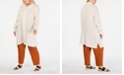 Eileen Fisher Plus Size Cotton Shirtdress & Straight-Leg Pants