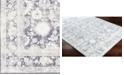 "Surya Silk Road SKR-2312 Medium Gray 18"" Square Swatch"