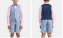 Lauren Ralph Lauren Little & Big Boys Breathable Cotton Vest & Shorts Separates