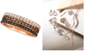 Le Vian Chocolate Layer Cake™ Blackberry Diamonds®, Chocolate Diamonds® & Nude Diamonds® Statement Ring (7/8 ct. t.w.) in 14k Rose Gold