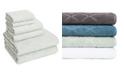American Dawn Hart Diamond 6 Piece Textured Towel Set