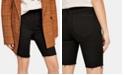 Free People So-Chic Denim Biker Shorts