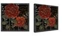 "Ready2HangArt 'Flora Petals II' Floral Canvas Wall Art - 20"" x 20"""