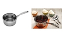 """Swiss Diamond Premium Steel Saucepan with Lid - 6.3"""" , 1.6 QT."""