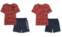 Marvel Toddler Spider-Man Boys T-Shirt & Shorts Set