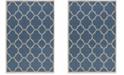 Safavieh Linden Blue and Creme 4' x 6' Area Rug