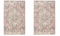 Safavieh Illusion Cream and Rose 3' x 5' Area Rug