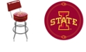 Trademark Global Iowa State University Padded Bar Stool with Back