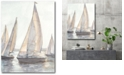 """Courtside Market Plein Air Sailboats I Gallery-Wrapped Canvas Wall Art - 18"""" x 24"""""""